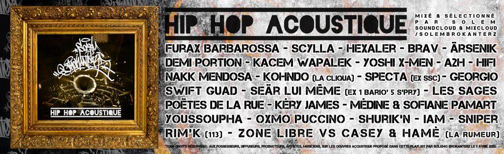 banniere hip hop acoustique